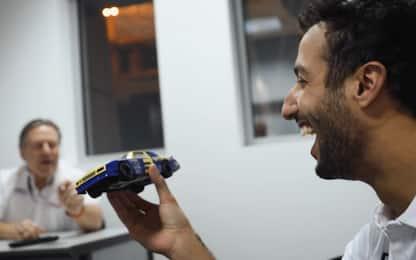 Ricciardo, dal modellino al giro su una Nascar