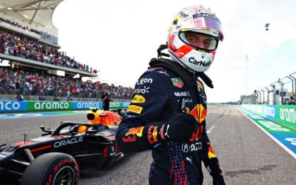 Verstappen in pole davanti a Hamilton. 4° Leclerc