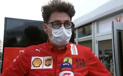 "Binotto: ""In Messico più competitivi di McLaren"""