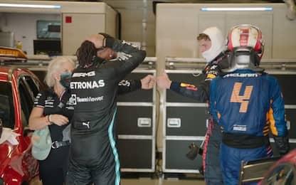 """Hamilton: """"Complimenti a Max, loro più veloci"""""""