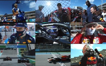 The best of: lo show del GP Usa in 49''. VIDEO