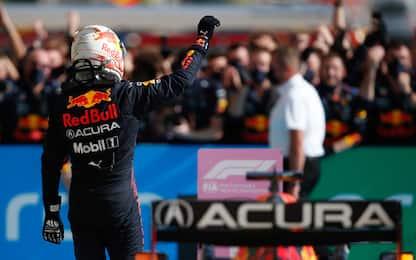 Verstappen, grande gestione di gara ad Austin