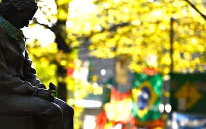 Imola nel ricordo di Senna. FOTO