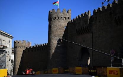 Baku, riparte la sfida. La Ferrari cerca conferme