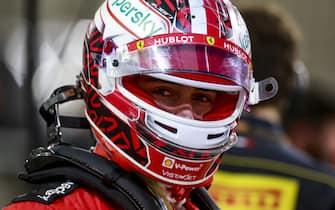 BAHRAIN INTERNATIONAL CIRCUIT, BAHRAIN - NOVEMBER 29: Charles Leclerc, Ferrari during the Bahrain GP at Bahrain International Circuit on Sunday November 29, 2020 in Sakhir, Bahrain. (Photo by Steven Tee / LAT Images)