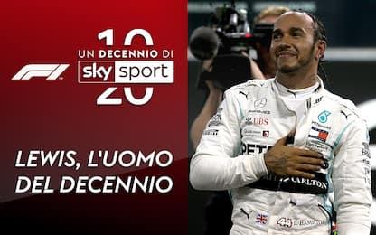 Un decennio di Sky Sport: lo speciale Hamilton