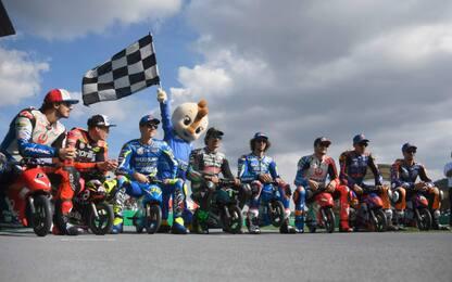 Da MotoGP a MiniGP: gara di minimoto da urlo. FOTO