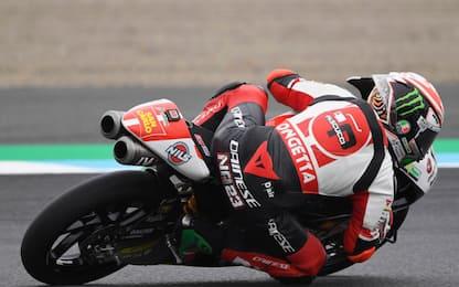 Moto3, Antonelli in pole. Dalla Porta 6°