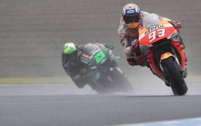 Marquez in pole a Motegi, Morbidelli super: è 2°