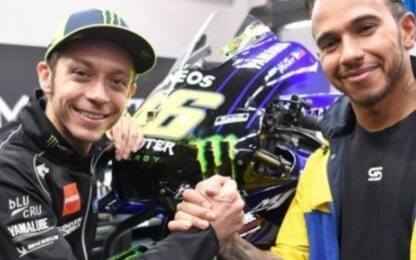 F1 e MotoGP, presto lo scambio Rossi-Hamilton