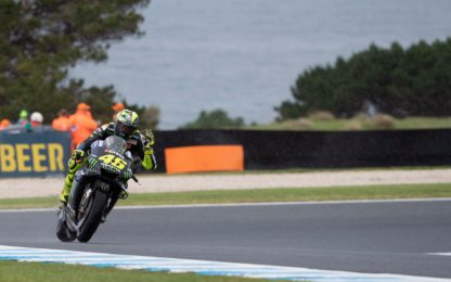 "Rossi 7° in Australia: ""Tutto positivo"". VIDEO"