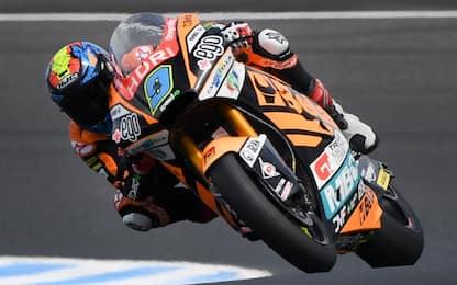 Moto2, pole di Navarro. 3° Marini, 6° Alex Marquez