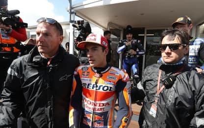 """Rinvio qualifiche, Marquez: """"Si poteva correre"""""""