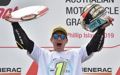 Moto3, Dalla Porta perfetto: vince gara e titolo