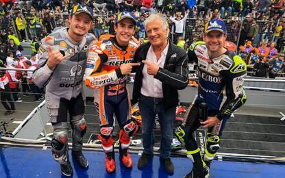 GP Australia, vince Marquez. 4° Bagnaia, 8° Rossi