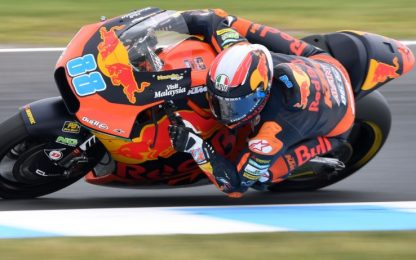 Libere Moto2, Martin leader a sorpresa. 3° Marquez