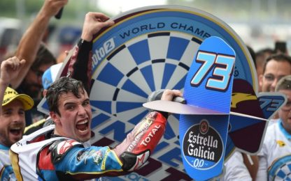 Moto2, Alex Marquez campione del mondo