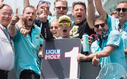 Moto3, Dalla Porta: vittoria con doppia dedica