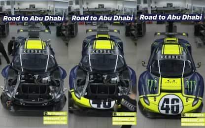 Rossi, livrea della Ferrari per 12 Ore Abu Dhabi