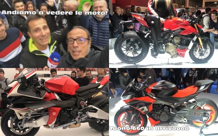 Eicma 2019, a caccia delle moto più belle. VIDEO - Sky Sport