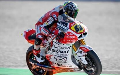 Moto2, pole di Navarro. MV terza con Manzi