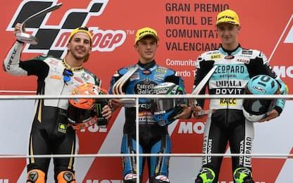 Moto3, trionfo di Garcia davanti a Migno e Artigas