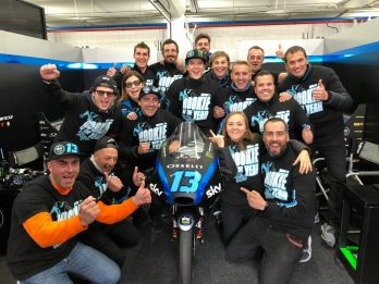 "GP Valencia: Vietti si laurea ""Rookie of the Year"""