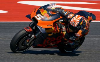 MISANO ADRIATICO, ITALY - SEPTEMBER 14: Johann Zarco of France and Red Bull KTM Factory Racing rides during Qualifying for the MotoGP of San Marino at Misano World Circuit on September 14, 2019 in Misano Adriatico, Italy. (Photo by Quality Sport Images/Getty Images)