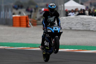 Sky VR46, Valencia: rookie Vietti, è qui la festa