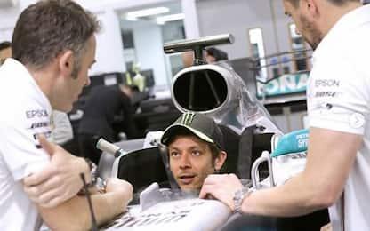 """Rossi sulla Mercedes: """"Io e Lewis ci divertiremo"""""""