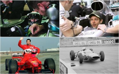 Valentino e gli altri: dalla MotoGP alla F1. FOTO