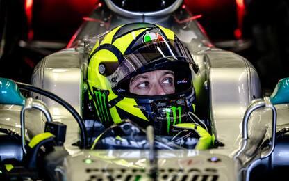 """Vale: """"Mi sono sentito un vero pilota di F1"""""""