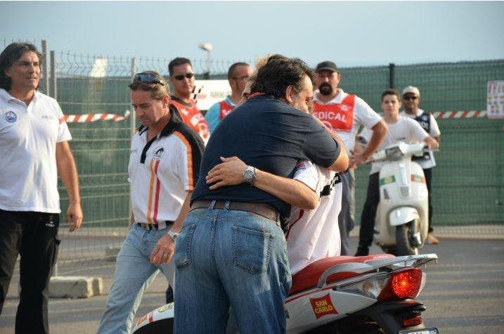 Marco era così: ti vedeva, si fermava e ti abbracciava