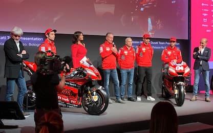 Ducati, svelata a Bologna la Desmosedici GP20