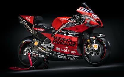Più nera e più aggressiva: la nuova Ducati. FOTO