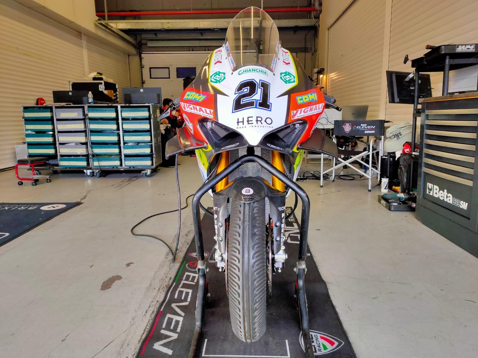 Michael Ruben Rinaldi - Team GoEleven (Ducati)