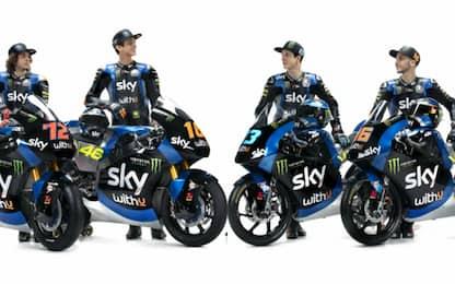 Sky VR46, le nuove moto per il Mondiale 2020. FOTO