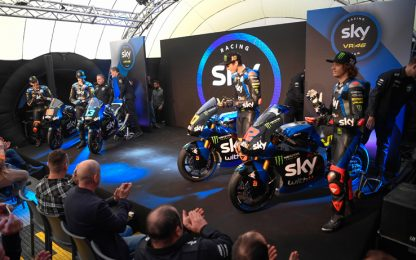 Sky VR46, novità e ritorni: via alla stagione 2020