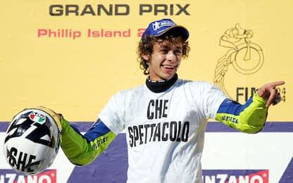 """Rossi e Yamaha, una """"storia d'amore"""" lunga 15 anni"""