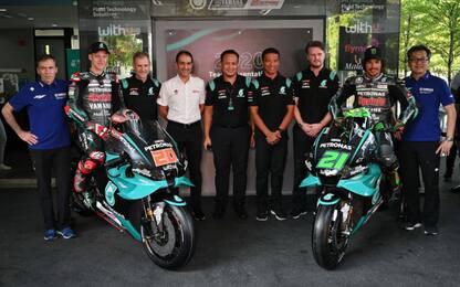 Petronas, c'è la moto di Quartararo e Morbidelli