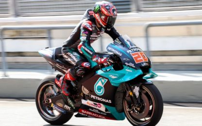 Test Sepang, day-1: doppietta Yamaha Petronas