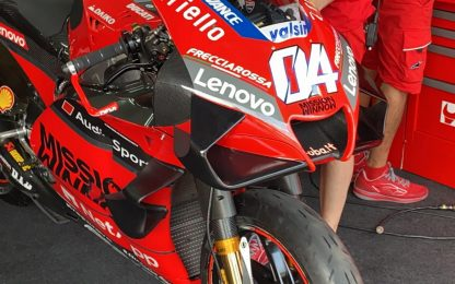 Nuova carena Ducati e le novità di Sepang. FOTO