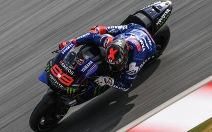 Yamaha, primo test ufficiale per Lorenzo. FOTO