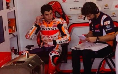 """Marquez chiude 12°: """"Ho ancora problemi fisici"""""""