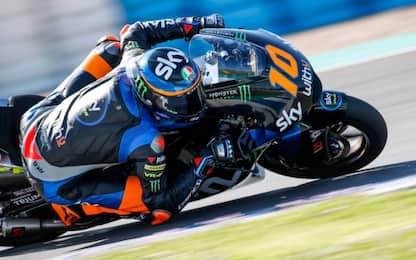 Moto2, test Jerez: al comando Martin, 2° Marini
