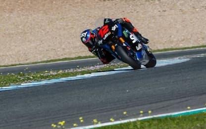 Moto2, test privati Jerez: domina Bezzecchi