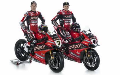 SBK, Ducati più dolce e stabile per Redding-Davies