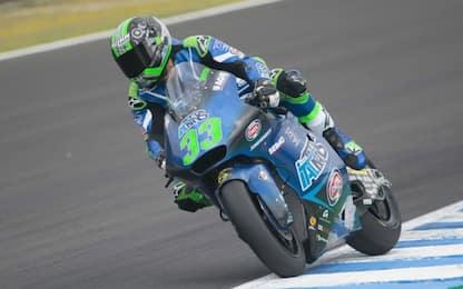Moto2, Bastianini più veloce: i risultati a Jerez