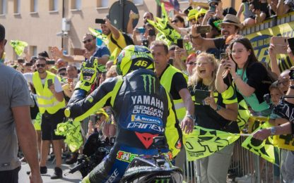 Rossi compie 41 anni: tutti i campioni senza età