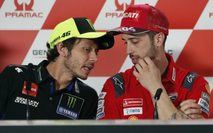 """Rossi: """"Con Ducati rapporto a volte difficile"""""""